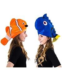 251ba4d9 Fish Hats - Clown Fish Hat - Tropical Fish Hat - Costume Hats - Under The