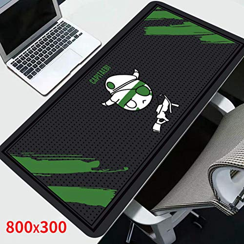 sasdasld Mouse Pad Rainbow Six Siege Gamer Gaming Computer Anti-Slip Mousepads Rubber Desk Keyboard for for Office-400x900mm