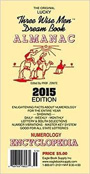 2015 The Original Lucky Three Wise Men Dream Book Almanac