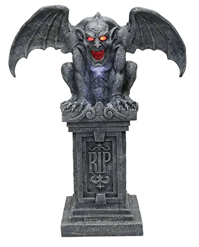 Gargoyle Animated Halloween Decoration