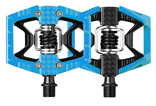 - Crank Brothers Double Shot Limited Edition Colored Pedals57, Blue/Black