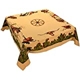 Moda Home Western Cotton Tablecloth - Home on the Range