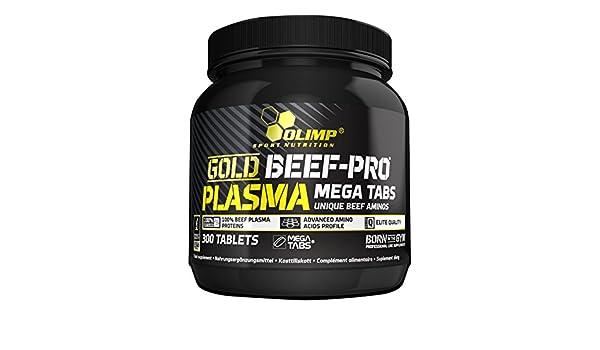 Olimp Sport Nutrition Gold Beef-Pro Plasma Mega Aminoácidos - 300 Tabletas: Amazon.es: Salud y cuidado personal