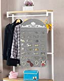 JSXD Hanging Jewelry Organizer,Double Side 64