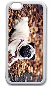 Cut Dog Animal Case for iPhone 6 Plus TPU White by Cases & Mousepads