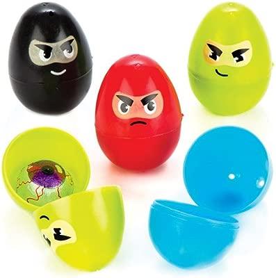 Baker Ross Huevos Ninja de plástico para niños Que se Pueden ...