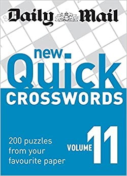 Daily Mail: New Quick Crosswords 11 (The Daily Mail Puzzle Books)