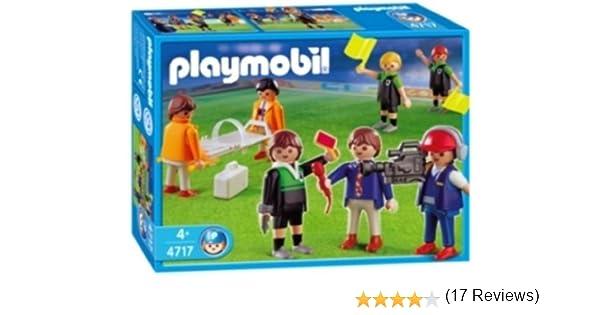 PLAYMOBIL - Set Adicional de fútbol (4717): Amazon.es: Juguetes y ...