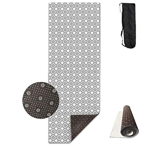 Useror Fitness Carrying Strap & Bag Premium Print Yoga Mat B