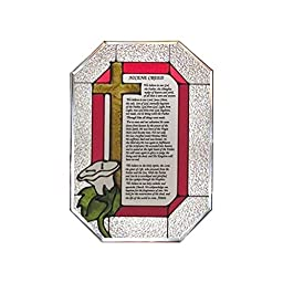 The Nicene Creed Painted Glass Panel Z-128