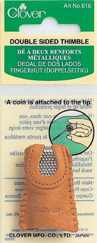 Leather Double Sided Thimble- 1 pcs sku# 644016MA