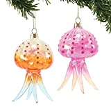 Department 56 Gone to the Beach Coast Fun Jellyfish Hanging Ornaments (assorted styles)