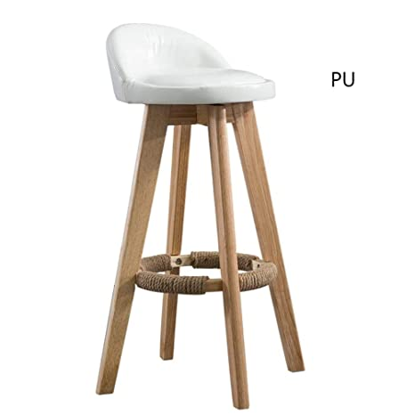 Awesome Amazon Com Fenping Bar Stool Rotating Bar Chair Solid Wood Machost Co Dining Chair Design Ideas Machostcouk