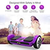 OXA Hoverboard - UL2272 Certified(2 Year Warranty), 20 Lithium Batteries (144 Wh) Ensure 17 km Range on a Single Charge, 2 Modes for All Ages, with Exclusive Patent Self Balancing Scooter