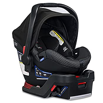 Image of Britax B-Safe Ultra Infant Car Seat - 4 to 35 Pounds - Rear Facing - 2 Layer Impact Protection, Cool Flow Ventilated Fabric, Grey Baby