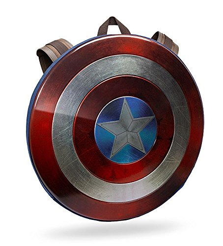 Captain America Civil War Distressed Shield Backpack by ThinkGeek