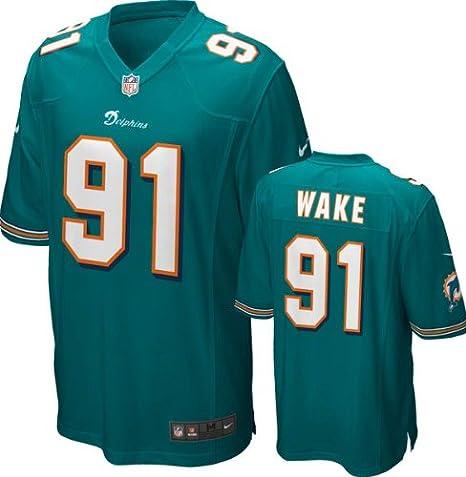 newest 2c04b f7c29 Amazon.com: Nike Youth Miami Dolphins NFL Cameron Wake ...