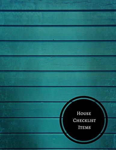 House Checklist Items pdf