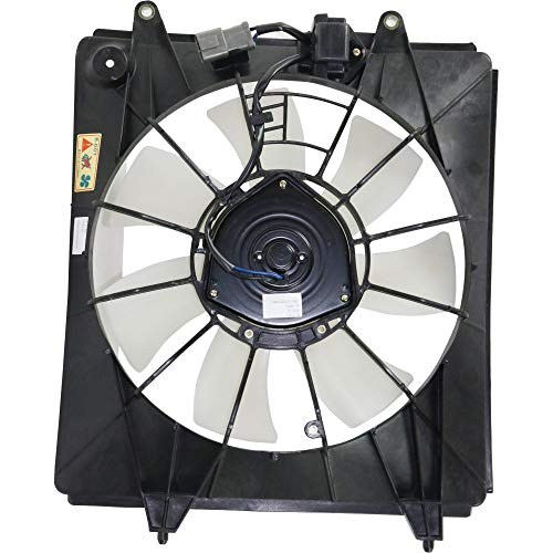 - A/C Condenser Fan Assembly for Honda CR-V 07-09 2.4L Eng