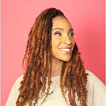 Amazon Com Dreadlock Extensions 100 Human Hair Faux Locs 20 24 In