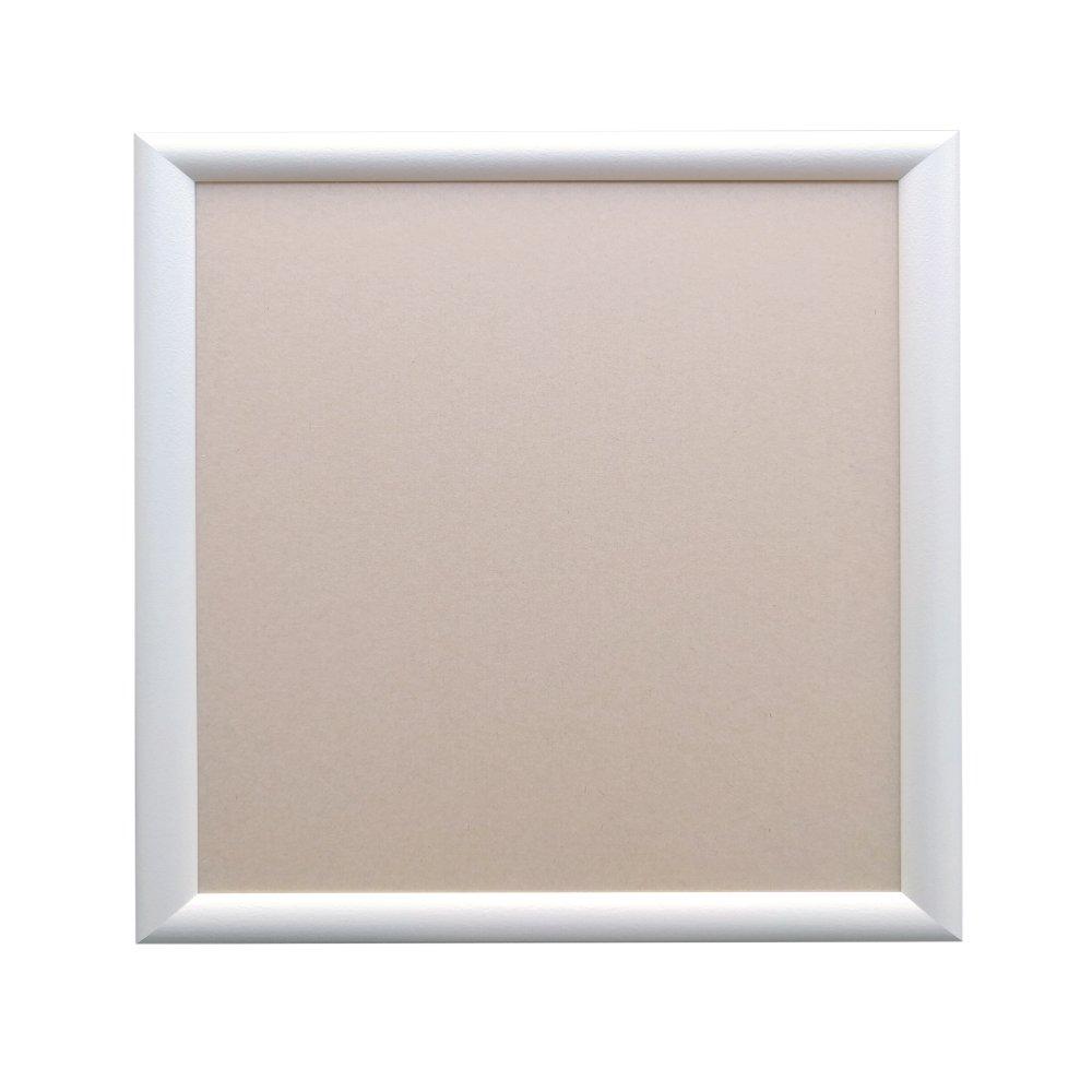 アルナ アルミ製額縁 YFM ホワイト 350x350 1673 B01MZBUBN2 350×350|ホワイト ホワイト 350×350