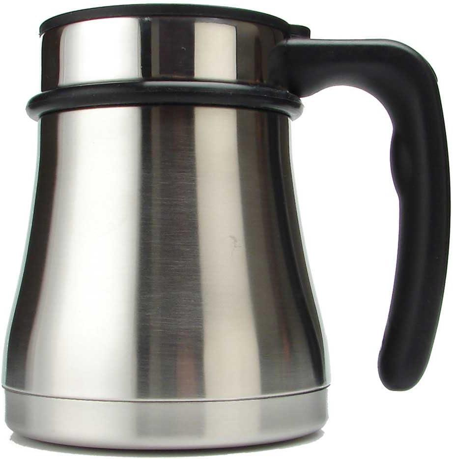 14 oz isol/é tasse//0,39l noir Planetary design wide base-mug-french-press cafeti/ère