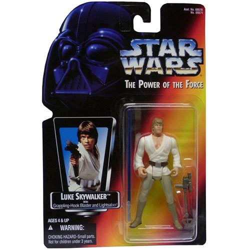 Kenner Luke Skywalker (Star Wars Power of the Force Luke Skywalker Long Saber Action Figure)