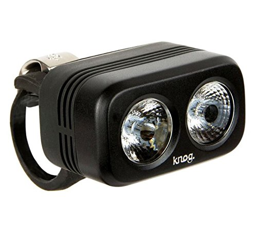 Knog Blinder Road 250 Headlight- Black, USB Rechargeable, LED, Water Resistant, Commuter Friendly, Easy Mounting, Battery Saving, Performance Cycling Bike Light