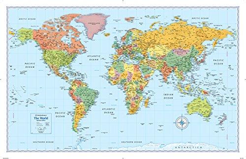 Rand McNally Signature World Wall Map (Folded)