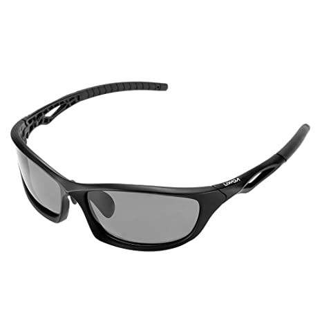 a0f78de220 Amazon.com  Lixada Polarized 100% UV Protection Glare Eliminating Sports  Sunglasses Sun Glasses for Cycling Riding Camping Hiking Running Golf   Sports   ...