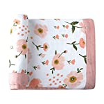 Muslin-Toddler-Blanket-Floral-Print-Bamboo-Muslin-Quilt-Oversized-47-x-47-2-Layers-Muslin-Stroller-Blanket-for-Baby-Girl-Floral-Floral
