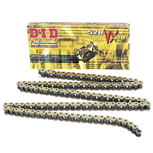 - D.I.D 520 Pro-Street VX2 Series X-Ring Chain - 116 Links - Natural Steel , Chain Length: 116, Chain Type: 520, Color: Black, Chain Application: Offroad 520VX2X116FB