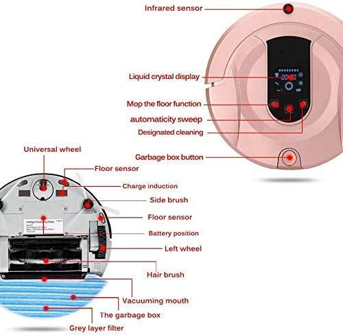 8bayfa SCKL Robot Aspirateur, sans Fil Route prévue for Robotic Aspirateur Humide et Chargeur Automatique à Sec Robot Sweeper