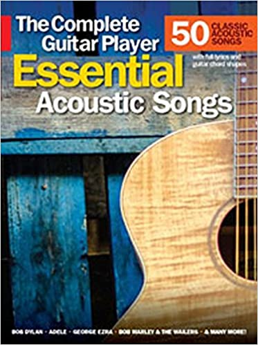 amazon essential acoustic songs the complete guitar player wise