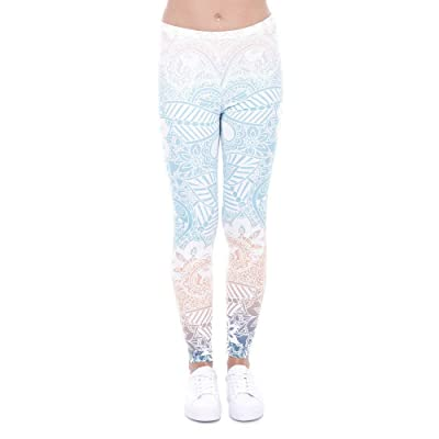 3D Imprimir Mujeres Sportleggin Fitness Mallas para Correr Ropa Yoga Activo Pantalones para Correr Entrenamiento Ballet Leggings (Color : Style9, Size : One Size): Ropa y accesorios