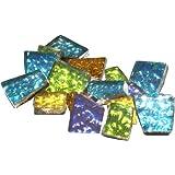 Mosaic Mercantile Sparkle Assorted Mosaic Tile, 1/2-Pound