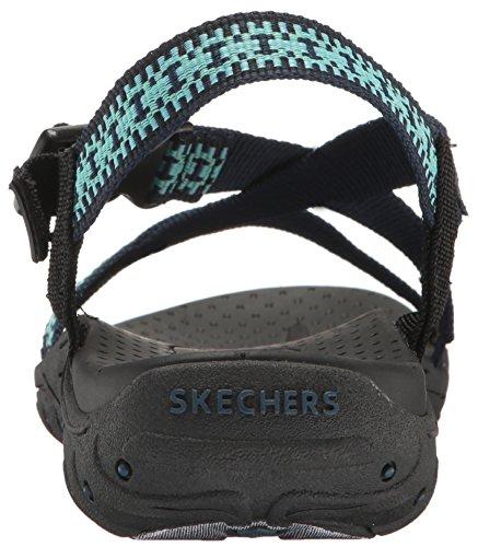 Skechers Reggae Toe Sandal Anneau Bleu 49bKBjT