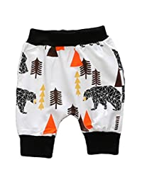 LOOLY Baby Boys Girls Capri Pants Toddler Infant Harem Pants