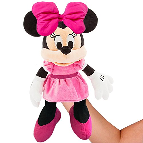 (Disney Minnie Mouse Plush Hand Puppet )