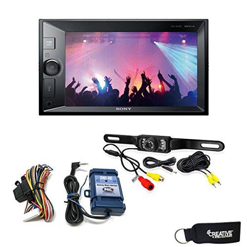 Sony XAV-V631BT Digital Media Receiver with Bluetooth, Steering Wheel Control Interface, and Back Up Camera
