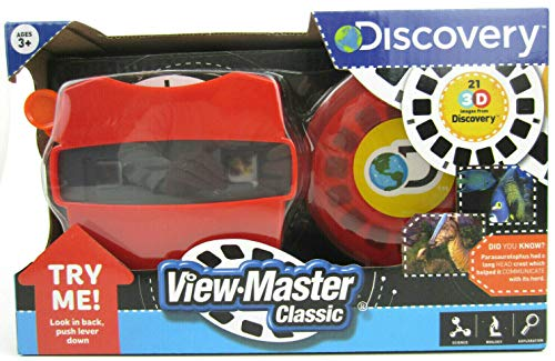 Big Game Toys~3D View-Master Discovery Kids with BGT Tote Bag Dinosaurs Marine Animals Viewmaster Viewer Box Set