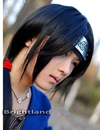 Amazon.com : Playcosland Cosplay Itachi Uchiha Itachi Long ...