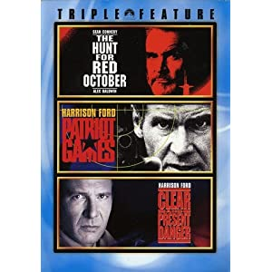 Jack Ryan 3 Pack (The Hunt for Red October / Patriot Games / Clear and Present Danger) (2015)