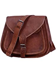 Komals Passion Leather 12 Leather Purse Satchel