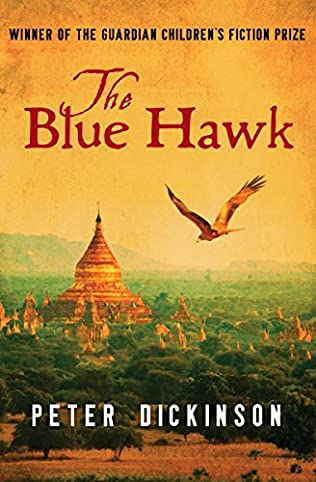 book cover of The Blue Hawk