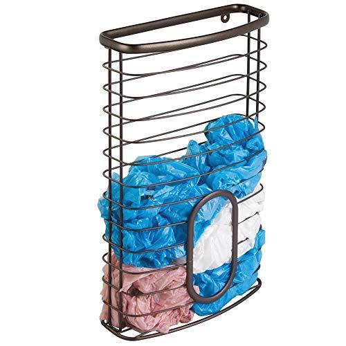 plastic bag dispenser basket - 8