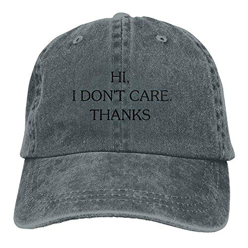 DEFFWB I Thanks for Hat Hats Cowgirl Skull Sport Cowboy Care Women Cap Hi Denim Men Don't XrrEq