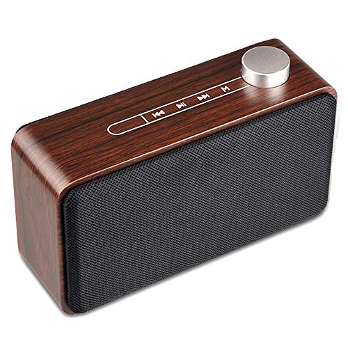 NCBH Retro Wireless Speakers Multi-Function Wooden Home Bluetooth