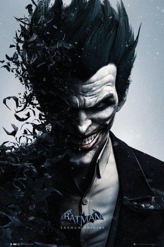 Batman Arkham Origins (Joker) Video Games Poster