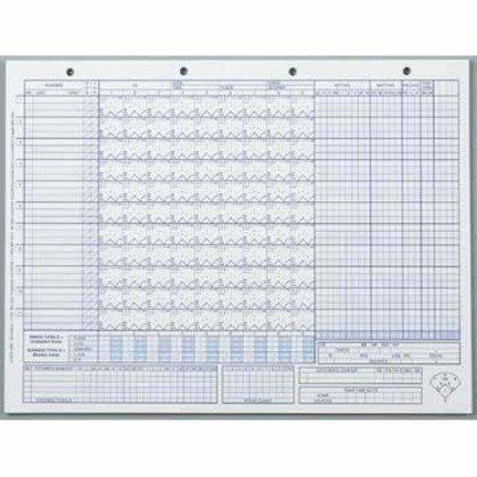 Glover's Baseball / Softball Scoring Sheets (50 -